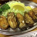 カキバター焼定食(とんかつ 万平 (とんかつ・まんぺい))