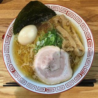 中華そば(しょうゆ)+味玉(ふる川)