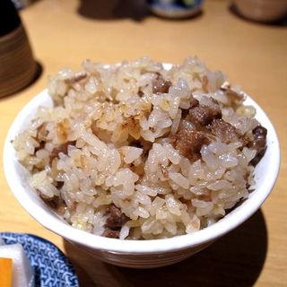牛肉と新生姜の炊き込みご飯(みこころや )