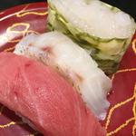 ぜいたく三種盛り(廻る富山湾 すし玉 富山駅店 )