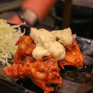 大山鶏のチキン南蛮(串もん 末吉や)