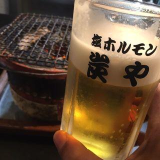 生ビール(炭や 中島公園店)