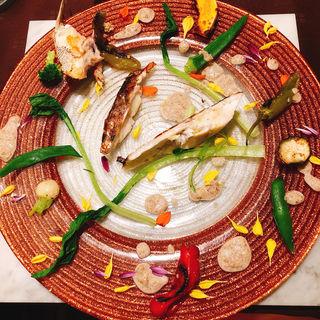 白身魚のソテー(ラ・ベルリュンヌ)