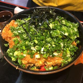 ネギカツ丼(ママン )