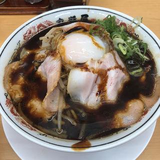 黒醤油ラーメン(丸醤屋 東須磨店 )