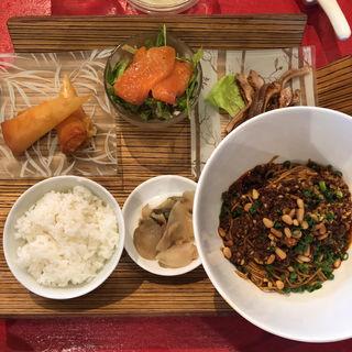 汁なし担々麺(麺セット)(中国料理 四川  (シセン))