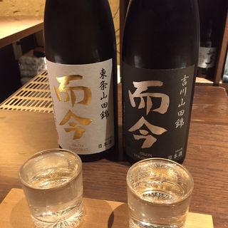 日本酒(而今)(ぽんしゅや三徳六味)