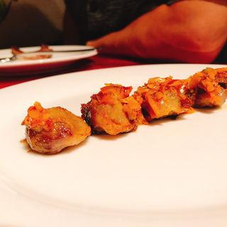 タンドリー砂肝(ガラムマサラ)