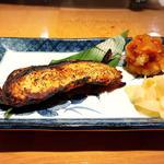 銀ダラの西京味噌焼