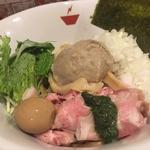 蟹油そば+雑炊セット