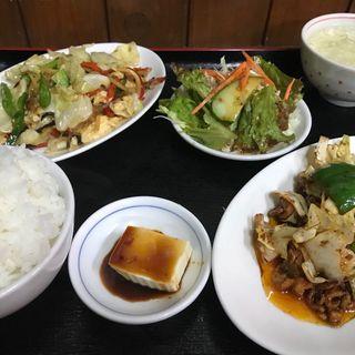 2品ランチ 豚味噌 野菜炒め(中国料理北京 )