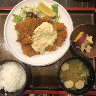 地鶏南蛮定食(佐海たちばな )