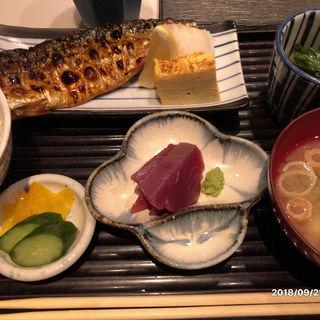 トロ鯖定食(五丁目 千 きいろ )