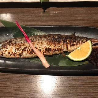 秋刀魚の塩焼き(博多大福)