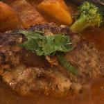 ラム肉のハンバーグ