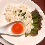白身魚の卵白炒め