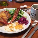 フレンチトースト モーニング(ベースキューカフェbyロイヤルガーデンカフェ)