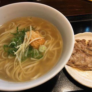 ソーキそば(麺屋玉ぐすく )