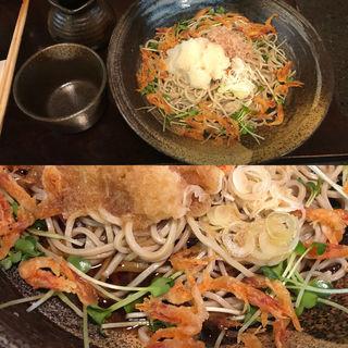 桜えび入り辛味おろし蕎麦(神田まつや)
