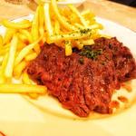 国産牛のハラミステーキ