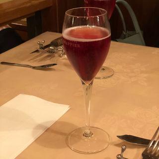 スパークリング(パリのワイン食堂)