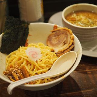 つけ麺背脂しょうゆ(本八幡らーめん 輝宗)