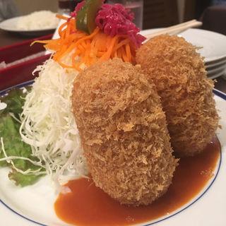 カニクリームコロッケ(洋食工房ヒロ )