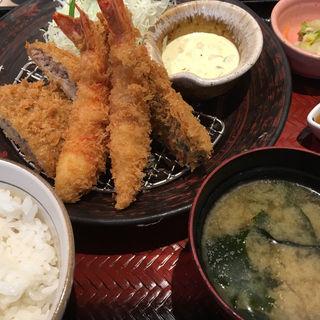 3種フライ盛り合わせ(大戸屋 稲毛マリンピア店)