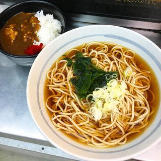 ミニカレーセット(爽亭 上野駅7・8番線ホーム店)