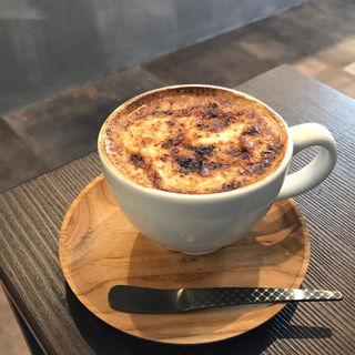 クレームブリュレラテ(Sukemasa Coffee)