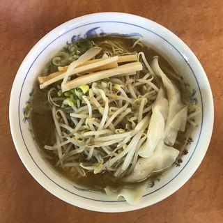 ワンタンメン 味噌 大盛り(永来軒 本店 )