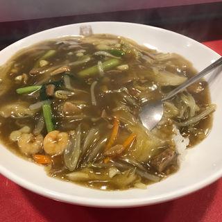 カレー丼(揚子江ラーメン 名門 )