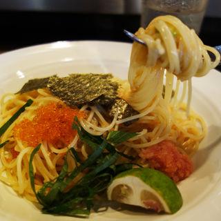 海の幸の卵を使ったスパゲティー(イタレリ屋 ツクセリ屋)