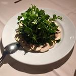 マッシュルームとクレソンのサラダ