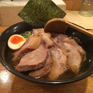 特製中華そば チャーシュー麺(本郷亭 焼山店 (ほんごうてい))