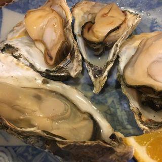 牡蠣焼き(鮨幸三)