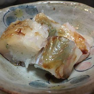 鯛のちっちゃい寿司(味處こいそ)