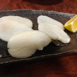 タイラギ貝柱の塩焼(割烹・小料理 輝石)