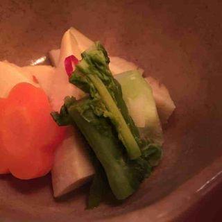 筍と菜の花の煮物(波菜舎)