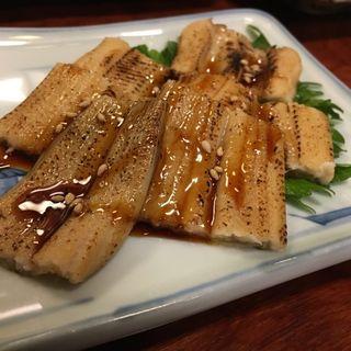 煮穴子(割烹・小料理 輝石)
