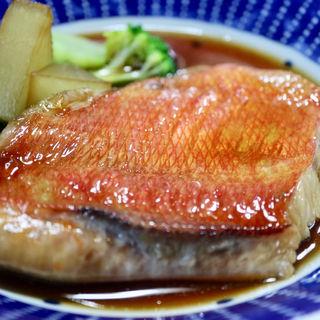 刺身と金目煮定食(旬の味 ごろさや )