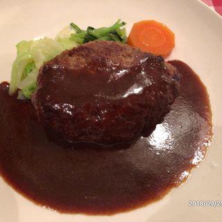 ハンハーグステーキ 200g(せきぐち亭)