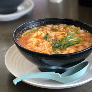 モツ辛麺(麺屋 つつみ 加納店)