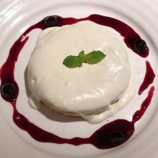 クリームチーズパンケーキ(木と水と土と)