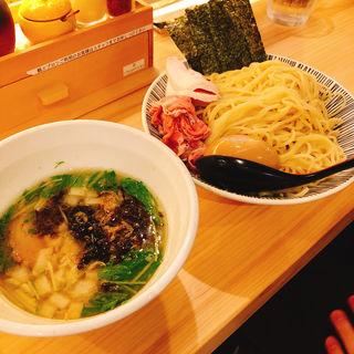 特製塩つけ麺(焼きあご塩らー麺 たかはし 歌舞伎町店)