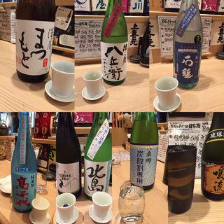 日本酒各種(地酒 日本酒バル ちろり )
