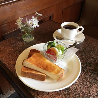 モーニングセット(しみずコーヒー店 )