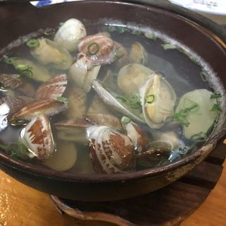あさりの酒蒸し(寿司割烹 松ふじ (マツフジ))