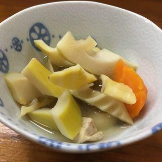タケノコの煮物(寿司割烹『松ふじ』)