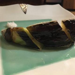 水茄子(天ぷら処 夢風)